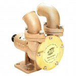 JPR-32UF - 1-1/4'' FLANGED FLEXIBLE IMPELLER PUMP