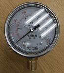 100D - Tess Gly Gauge A, 100D - 0-25 Bar / 350 Psi - 1/2'' BSP, BM